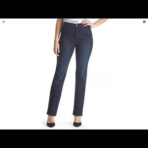 Gloria Vanderbilt Amanda Missy New Rinse Jean